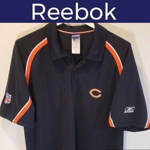 🏈Chicago Bears NFL Football Polo Shirt-Reebok